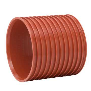 Uponor Ultra Rib2/Double kloakdobbeltmuffe 200 mm.