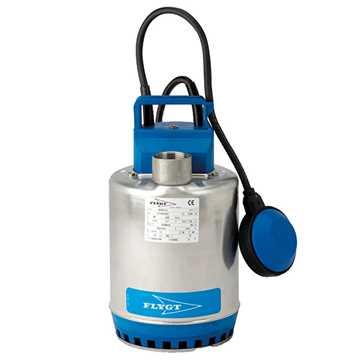 Flygt dykket pumpe SXM 3/A GT, 0,55kW, 1x230V, 50Hz m/niveau