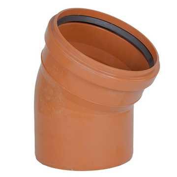 Kloakbøjning PP 110 mm x 30° SN4 kloakbøjning pp kloakfittings kloakplast kloakvinkel kloak vinkel